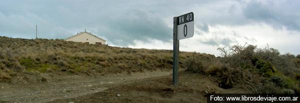 Comienzo de la ruta 40