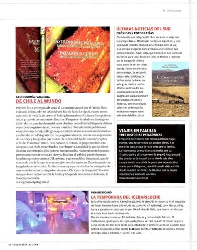 revista lugares nota de libros de viaje