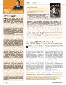 Revista Trofeos de pesca