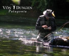 pesca con mosca von dungen