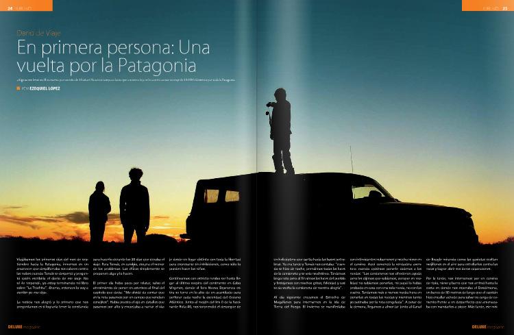 deluxe magazine nota de libros de viaje